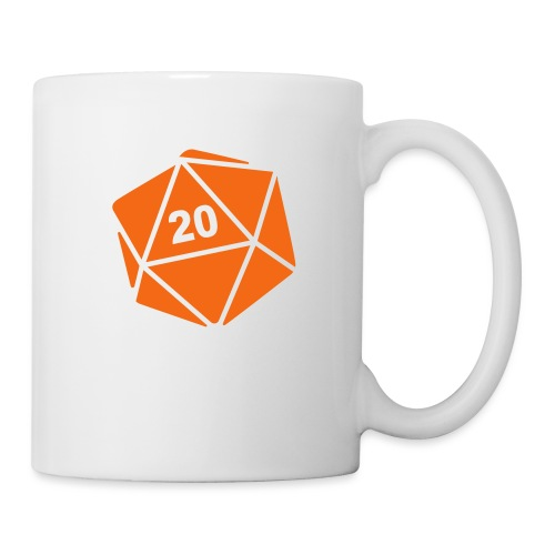 D20 Winter Toque - Coffee/Tea Mug