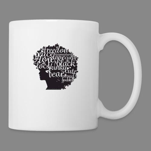 Afro Text II - Coffee/Tea Mug