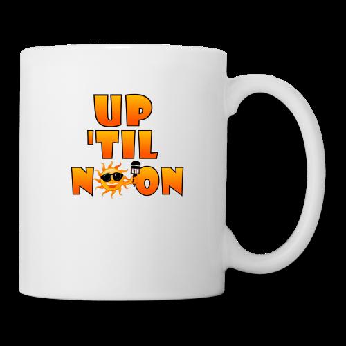 Up Til Noon Water Bottle - Coffee/Tea Mug