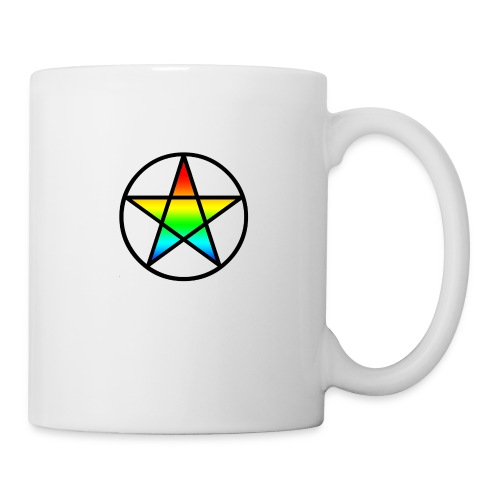 Official Iridescent Tee-Shirt // Men's // White - Coffee/Tea Mug