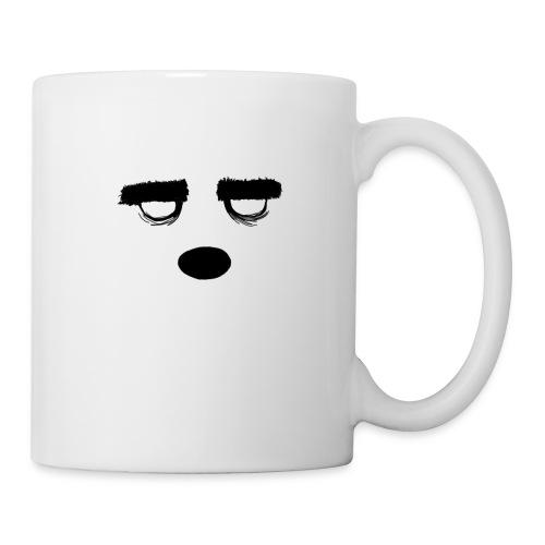 Women's Style Grumpy Bear Face - Coffee/Tea Mug