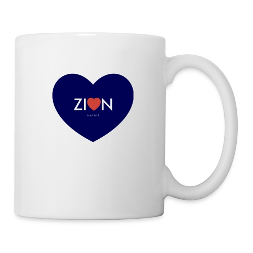 Zion in my heart/ I Won't Keep Silent - Coffee/Tea Mug