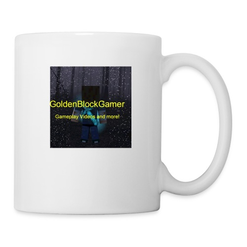 GoldenBlockGamer Tshirt - Coffee/Tea Mug