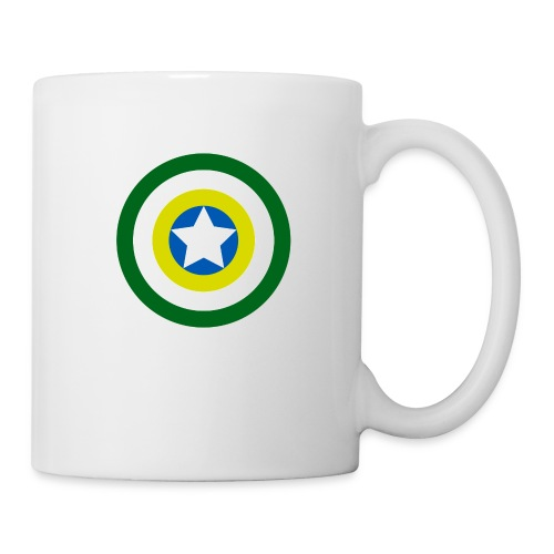 Capitão America Brasil - Coffee/Tea Mug