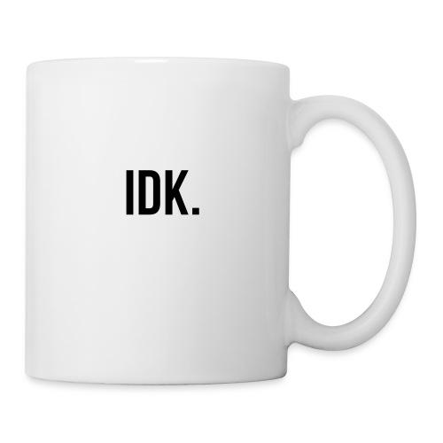 I don't know phone case - Coffee/Tea Mug