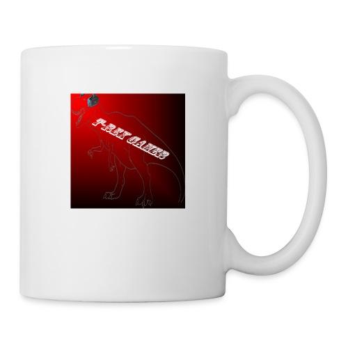 T-REX GAMER LOGO - Coffee/Tea Mug