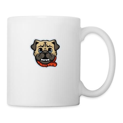 Pug_Mascot_WhiteBG - Coffee/Tea Mug