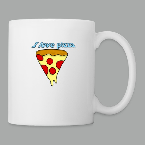 I love pizza - Coffee/Tea Mug