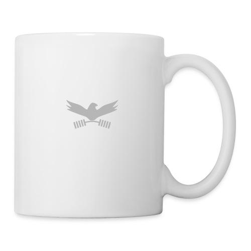 Peace_In_Strength_Grey_whiteLetter - Coffee/Tea Mug
