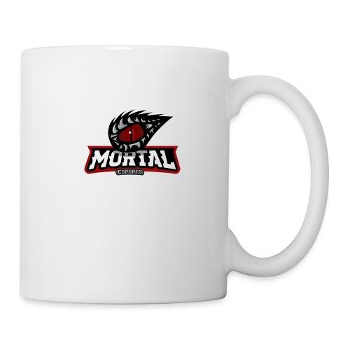 Mortal Esports Full Logo Design (Black) - Coffee/Tea Mug