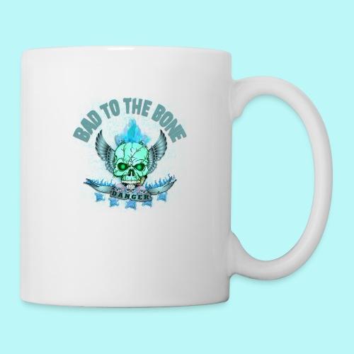 Bad to the bone blue hoodie - Coffee/Tea Mug
