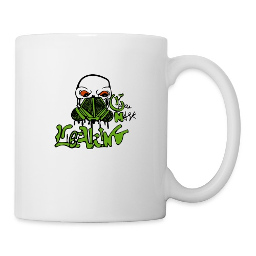 Leaking Gas Mask - Coffee/Tea Mug