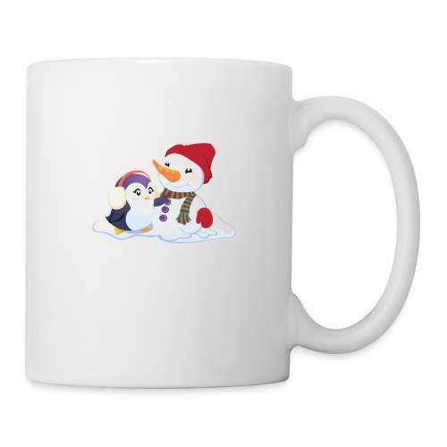 Penguin & Snowman Winter Friends - Coffee/Tea Mug