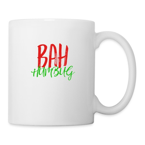 Bah Humbug Handwritten - Coffee/Tea Mug