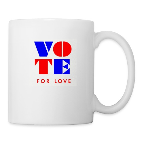 vote4love-sample - Coffee/Tea Mug