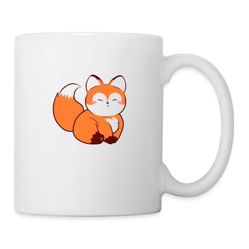 fat little baby fox - Coffee/Tea Mug
