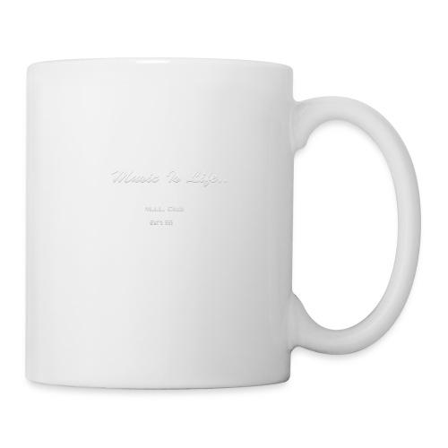 DJYO: Music is Life: MIL Club: Established in 1995 - Coffee/Tea Mug