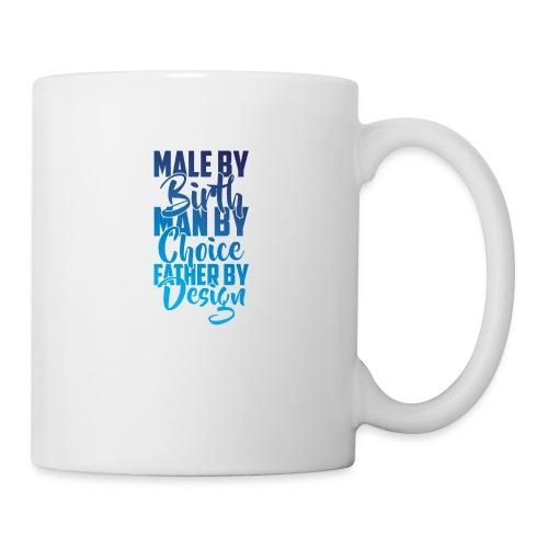 MALE BY BIRTH - MULTI BLUE - Coffee/Tea Mug