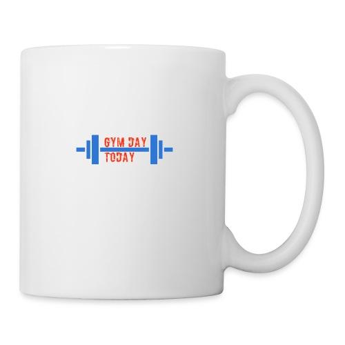 gym_day_today - Coffee/Tea Mug