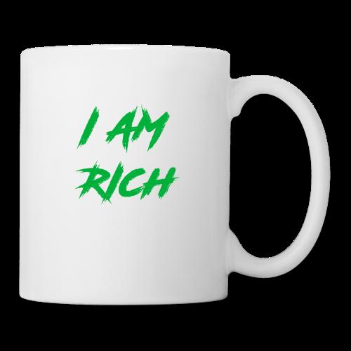I AM RICH (WASTE YOUR MONEY) - Coffee/Tea Mug