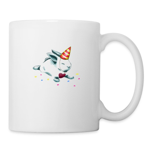 Birthday Bunny (or Unicorn Bunny) - Coffee/Tea Mug