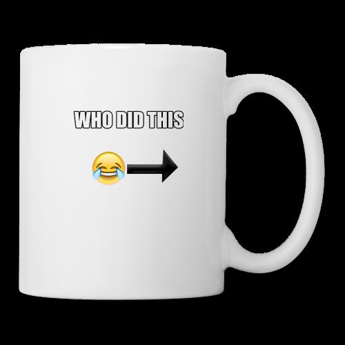 WHO DIS THIS - Coffee/Tea Mug