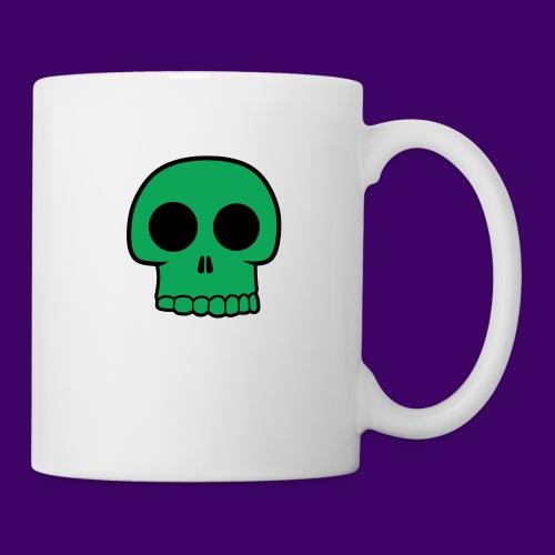 Green Skull - Coffee/Tea Mug