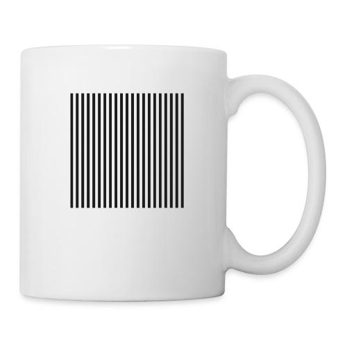 Black & White Stripes - Coffee/Tea Mug