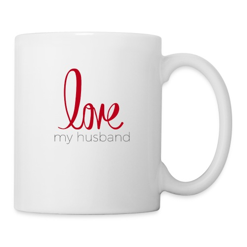 love my husband - Coffee/Tea Mug