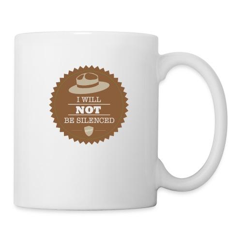 Not be Silenced - Coffee/Tea Mug