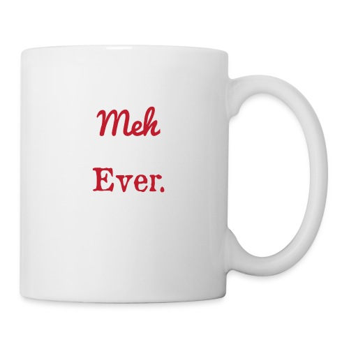 meh parents ever logo Product - Coffee/Tea Mug