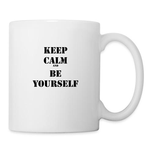 Keep calm and be yourself - Coffee/Tea Mug
