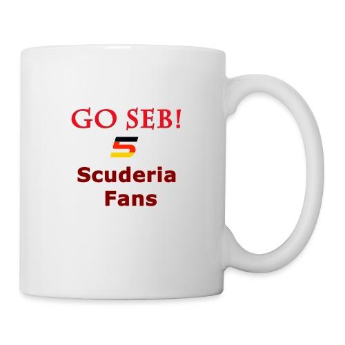 Go Seb! Scuderia Fans design - Coffee/Tea Mug