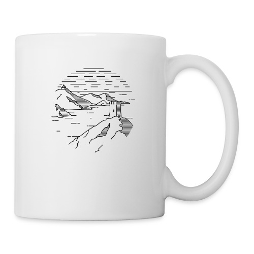 Line landscape - Sea - Coffee/Tea Mug