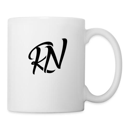 RomanNation Black (RN) - Coffee/Tea Mug