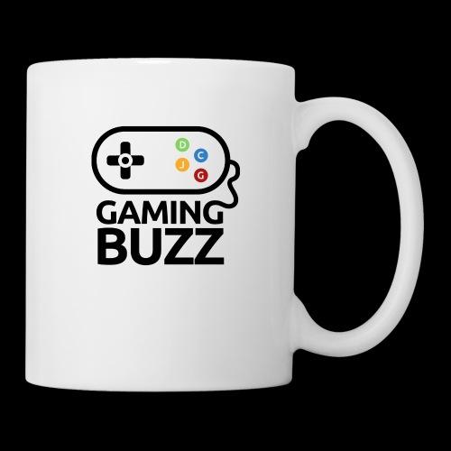 Gaming Buzz Logo - Black - Coffee/Tea Mug