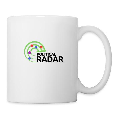 Political Radar Logo - Black - Coffee/Tea Mug
