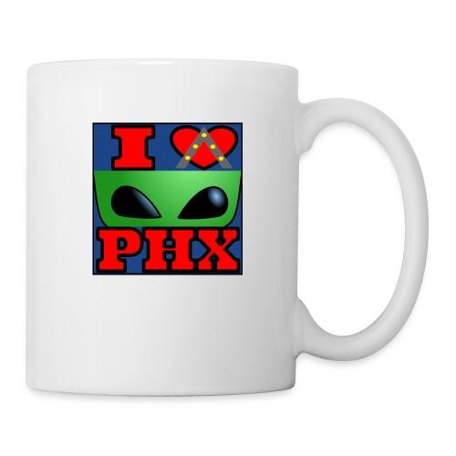 I Love Phoenix, Alien - Coffee/Tea Mug