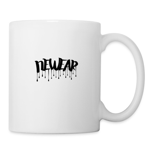 NEWEAR Logo BLACK - Coffee/Tea Mug