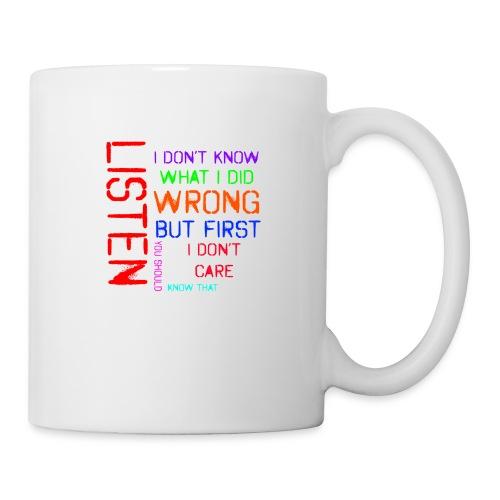 I don't care - Coffee/Tea Mug