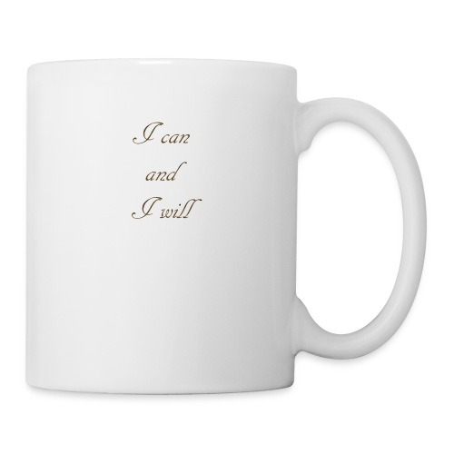 I CAN AND I WIL - Coffee/Tea Mug