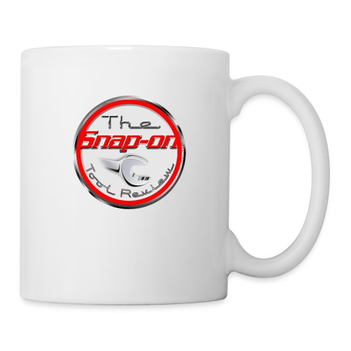 red logo white youtube - Coffee/Tea Mug