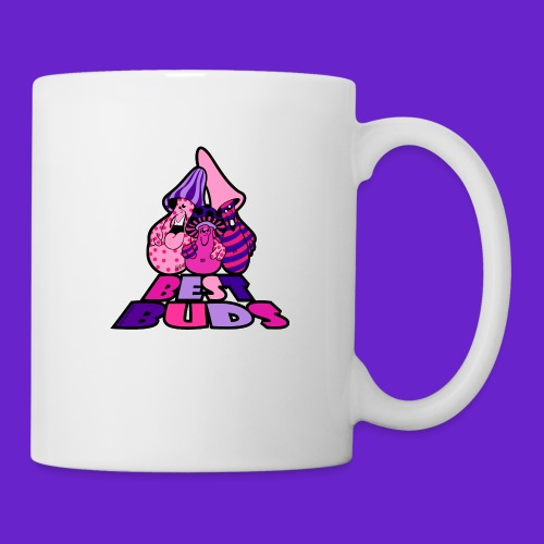 BEST BUDS PINK PURPLE - Coffee/Tea Mug
