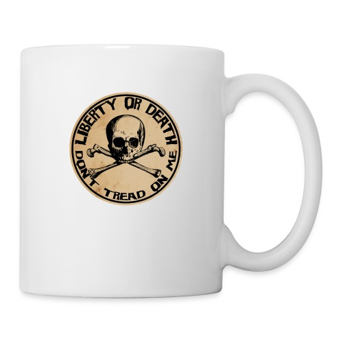 Liberty or Death Dont Tread On Me - Coffee/Tea Mug