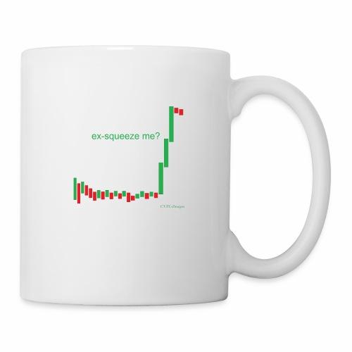 ex-squeeze me? - Coffee/Tea Mug