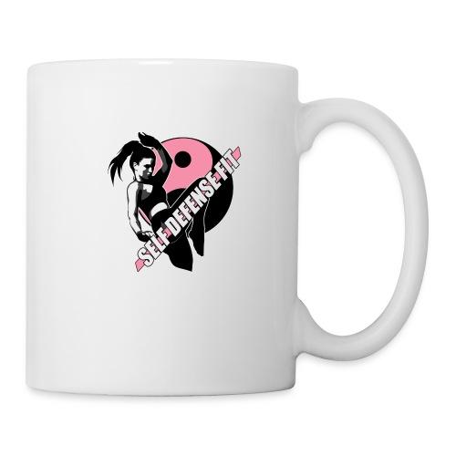 SELF DEFENSE FIT LOGO - Coffee/Tea Mug