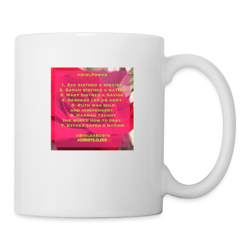 Girl Power Too! - Coffee/Tea Mug
