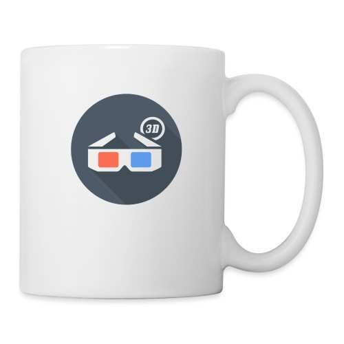 3D glasses - Badge - Coffee/Tea Mug