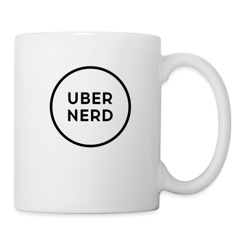 uber nerd logo - Coffee/Tea Mug