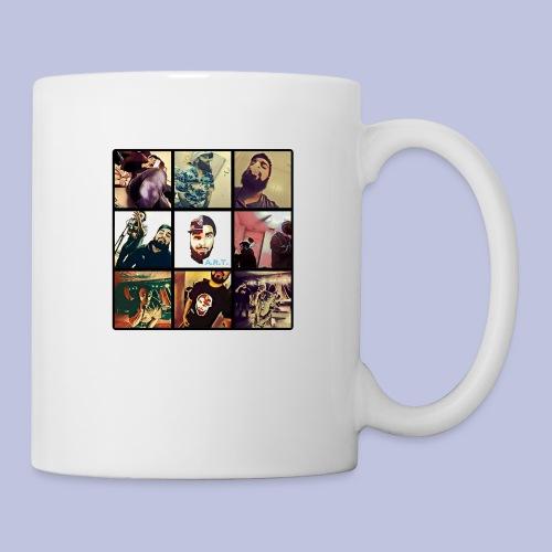 Throwback ART Mixtape Cover - Coffee/Tea Mug
